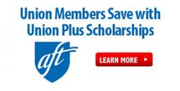 Union Plus scholarship 2020